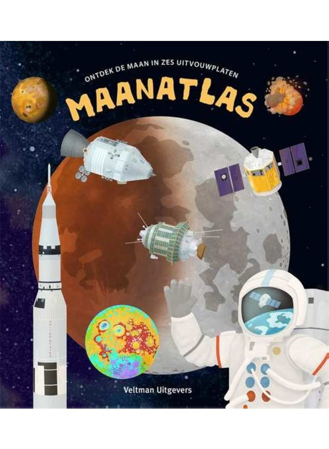 """Kinderboek """"Maanatlas"""""""