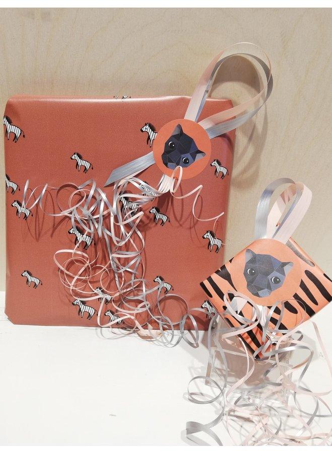 Cadeaupakket - Shower glove (roze)