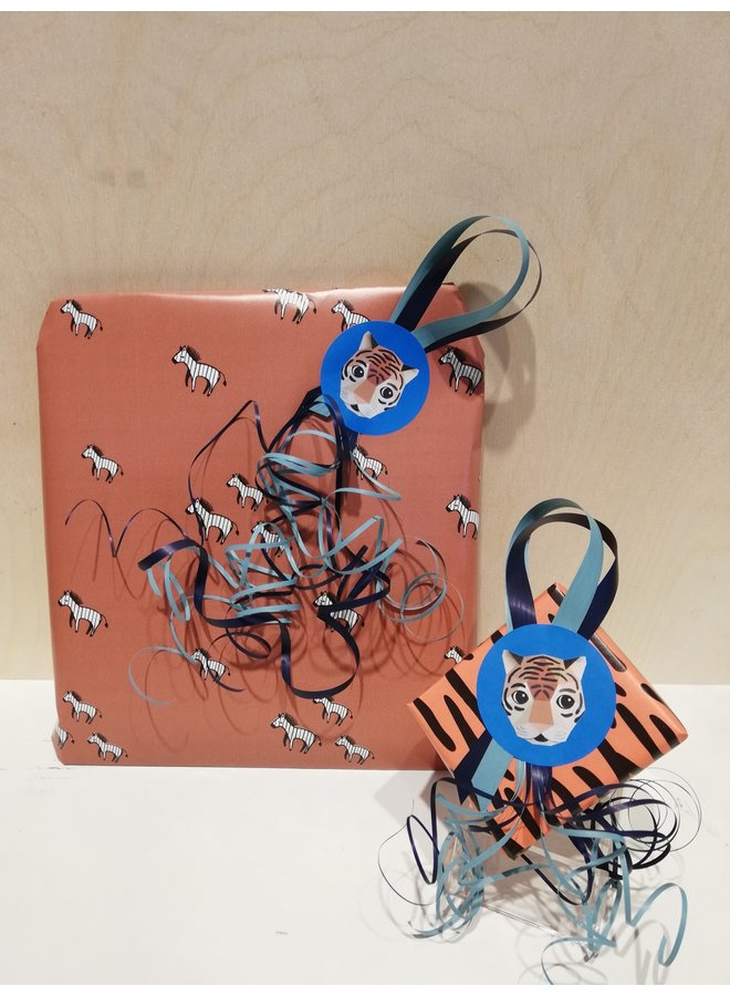 Cadeaupakket - Shower glove (blauw)