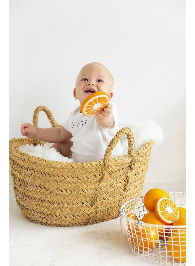 Bad- & Bijtspeeltje Sinaasappel