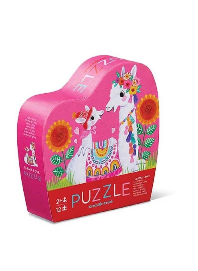 12 pc Mini Puzzle/Llama Love