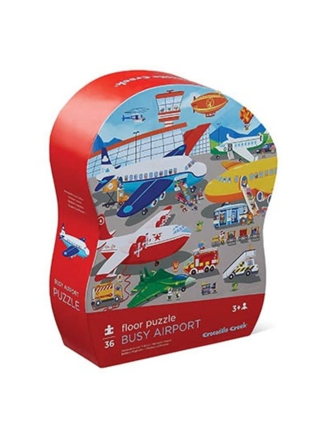 36pcs Vloer Puzzel/Busy Airport