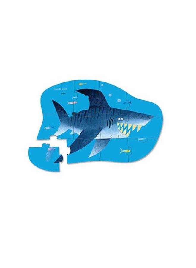 12 pc Mini Puzzle/Shark