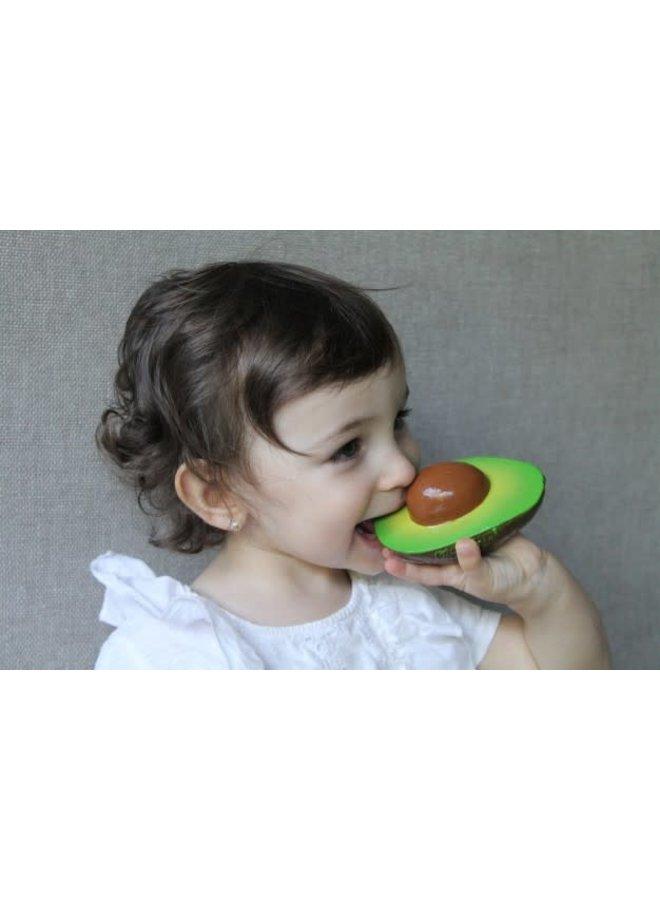 Bad- & Bijtspeeltje Avocado