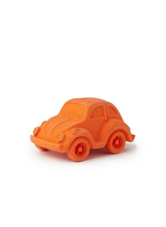 Bad- & Bijtspeeltje Autootje Oranje