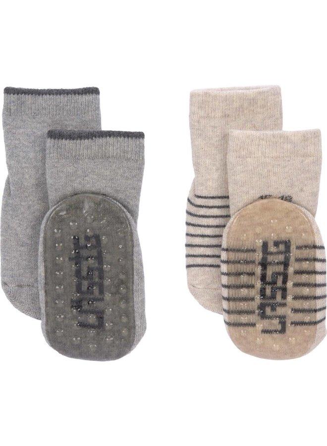 Anti-slip sokken