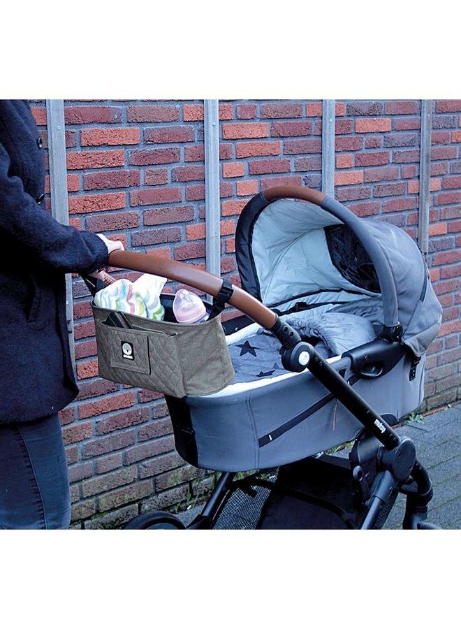 Kinderwagen organizer - grijs