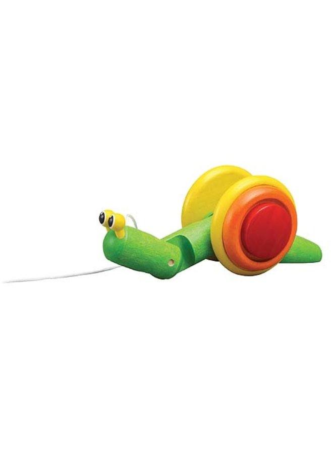 Pull-Along Snail