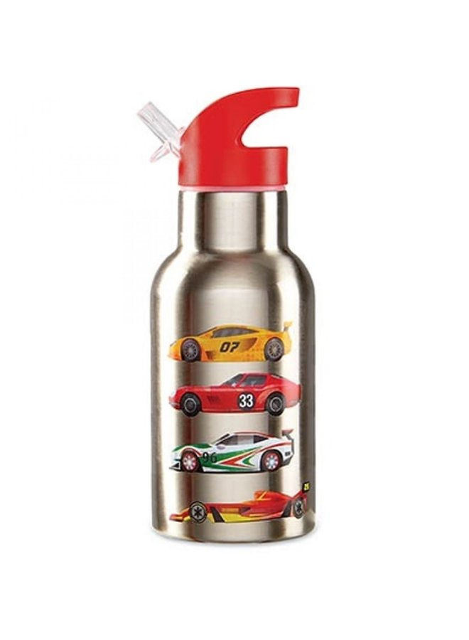 Stainless Bottle - Race Cars