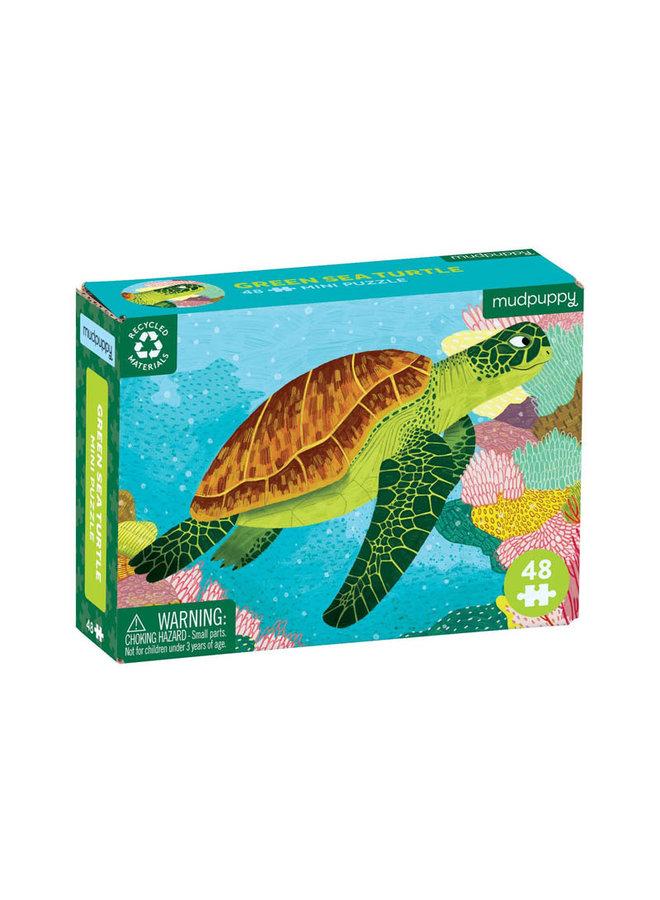 48 pc Mini Puzzle/ See Turtle