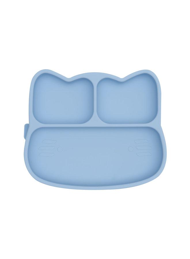Stickie Cat plate - Powder Blue