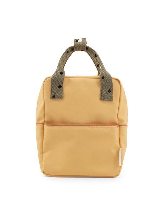 Rugzak Freckles/ Retro yellow+Seventies green+Faded orange