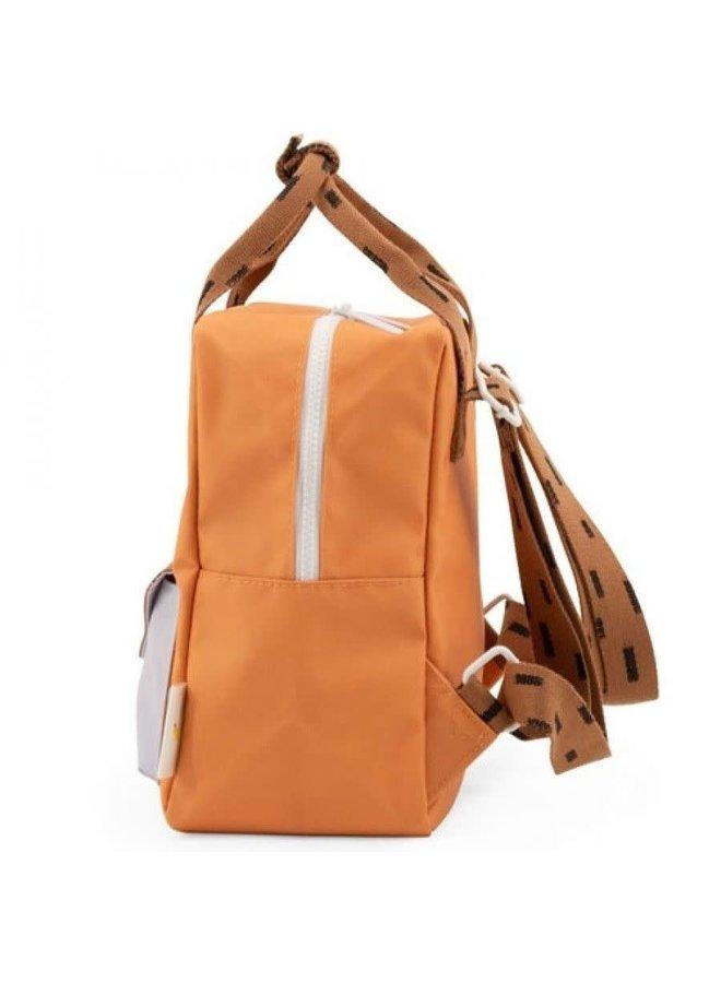 Rugzak Sprinkles Envelope/Apricot orange/Cinnamon brown/Lavender