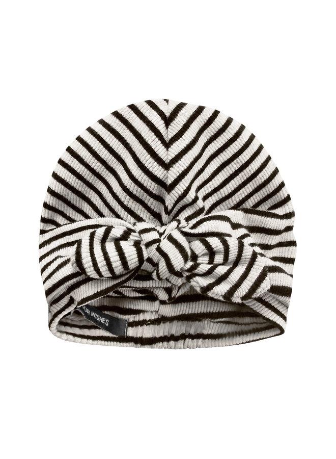 Beige - Stripes | Turban