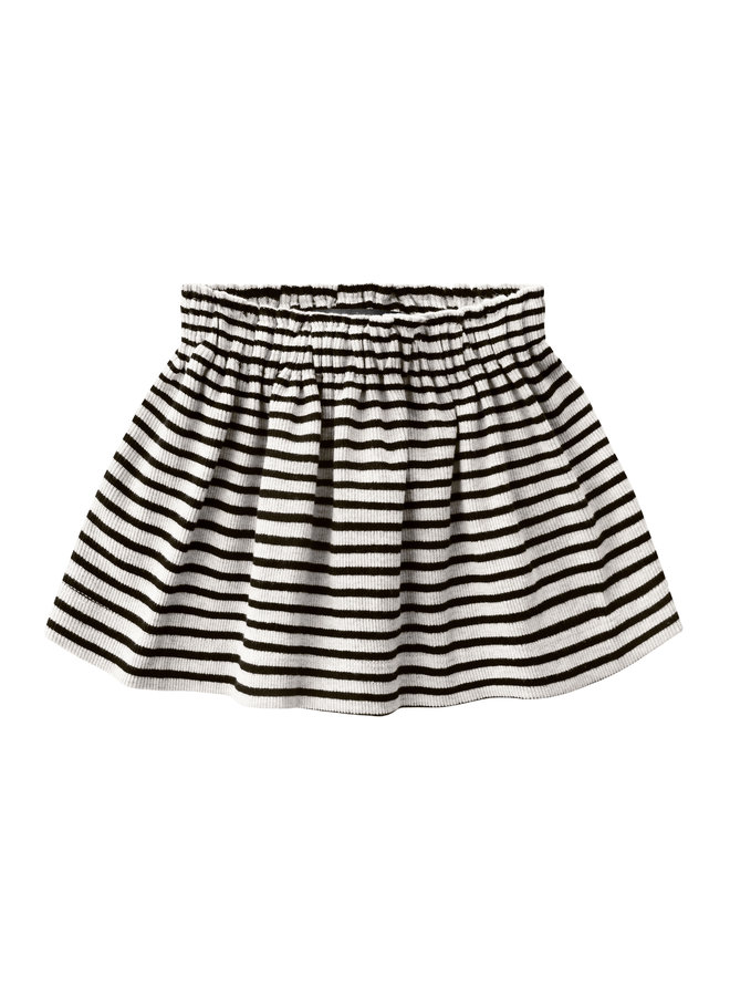 Beige - Stripes | Skirt