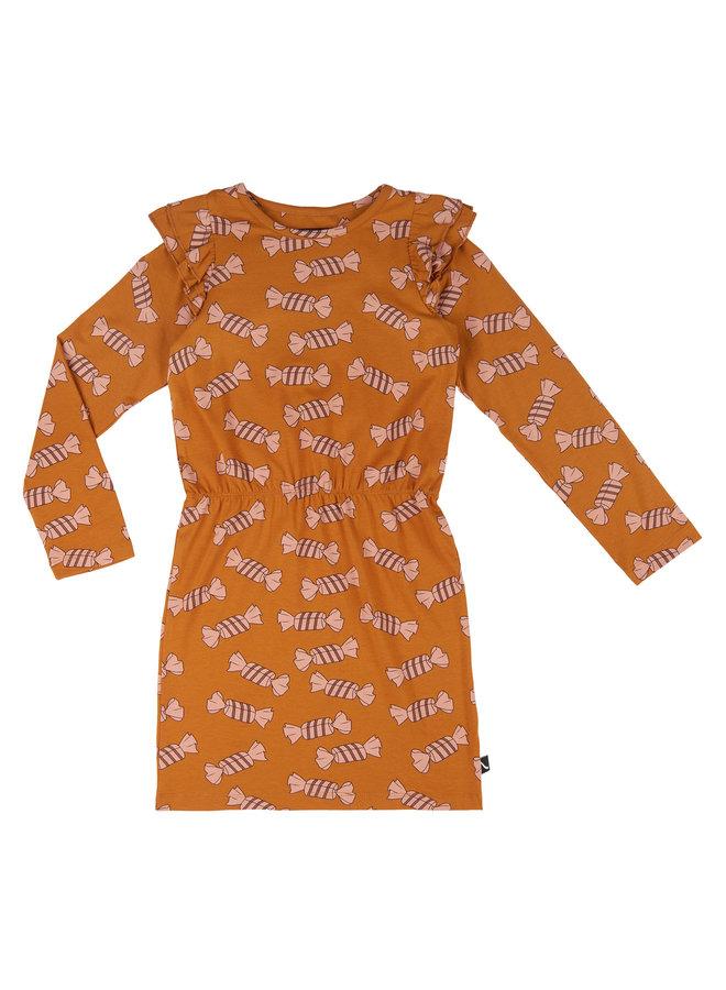 Candy - blouson dress with ruffles