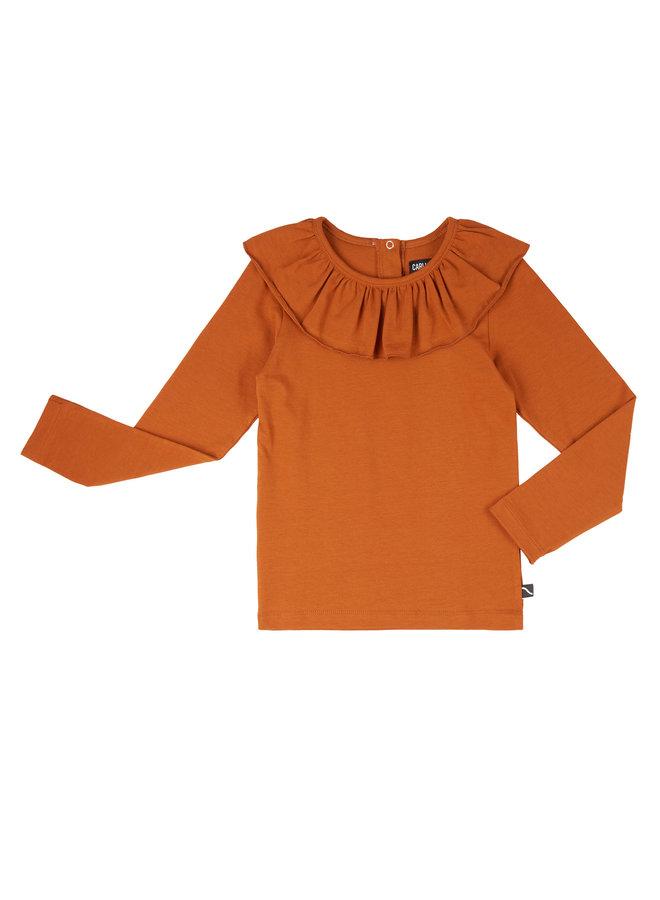 Basics - longsleeve with big collar