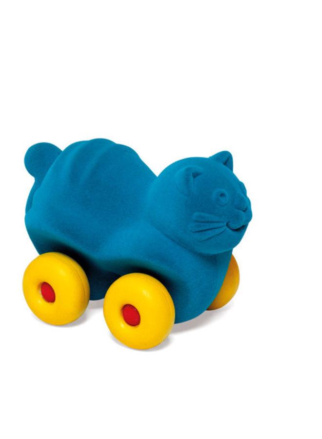 Kat op wielen