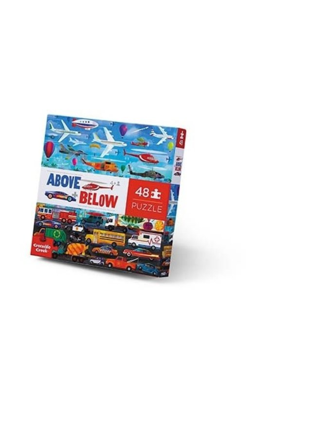 48 pcs Above & Below/Things that Go