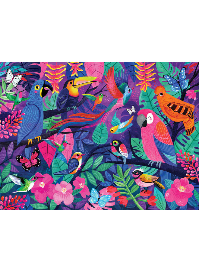 500 pc Boxed - Birds of Paradise