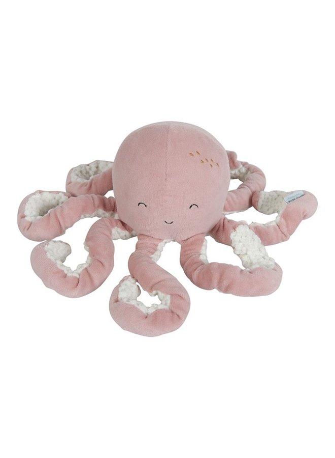Octopus knuffel Ocean Pink