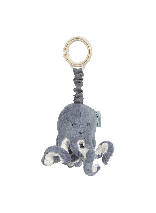 Trilfiguur Octopus - Ocean blue