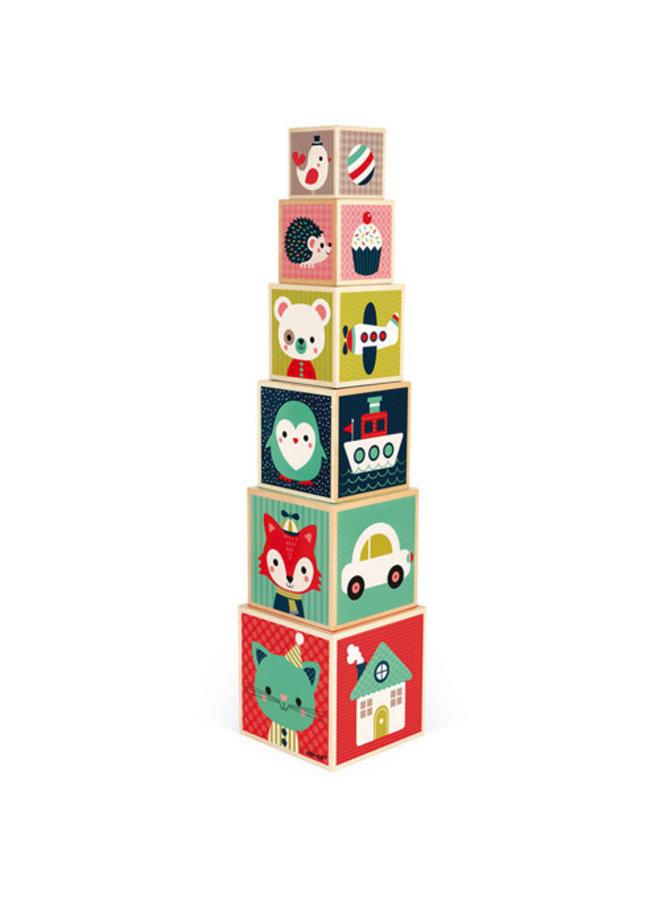 Baby Forest - Stapeltoren Blokken