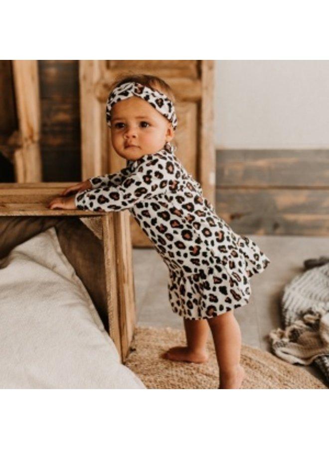 Leopard | LS Shift Dress