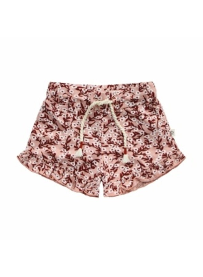 Floral | Ruffle Shorts