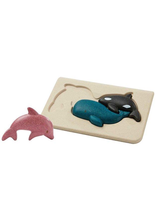 Sea life Puzzle 3D