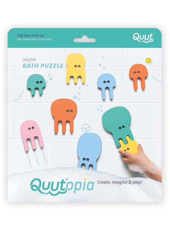 Jellyfish Bath Puzzle