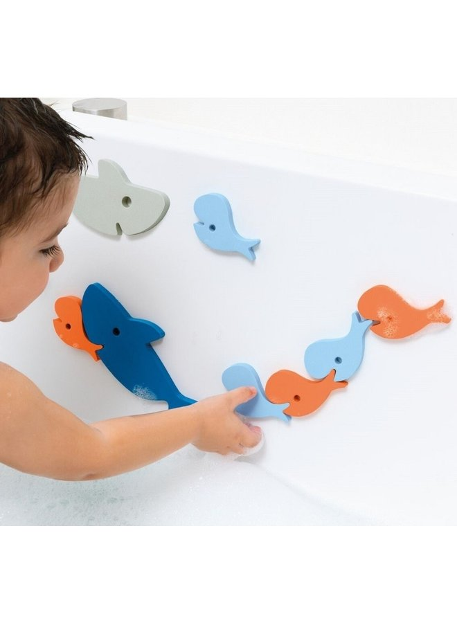 Shark Bath Puzzle