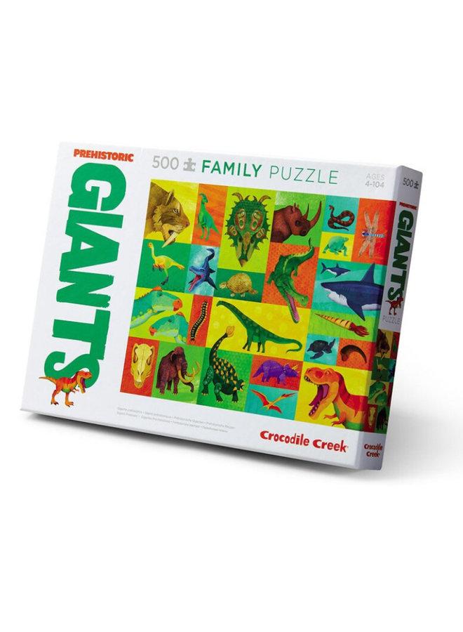 Puzzel 500-pc Boxed | Prehistoric