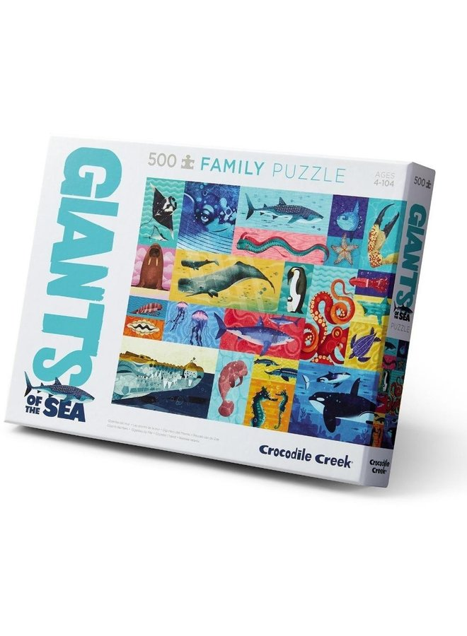 Puzzel 500-pc Boxed |Giants of the sea