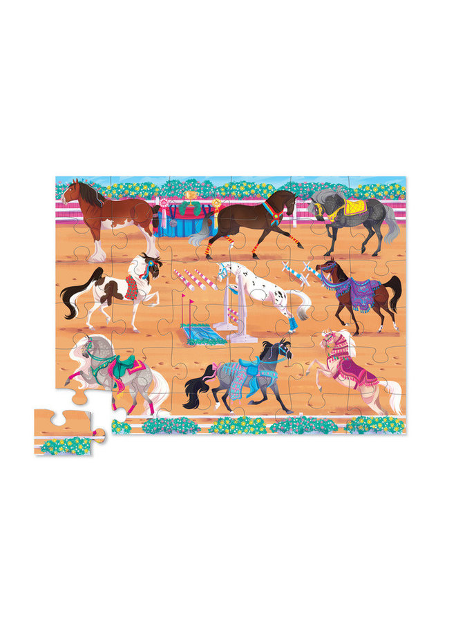 36 pc Floor Puzzle/Horse Dreams