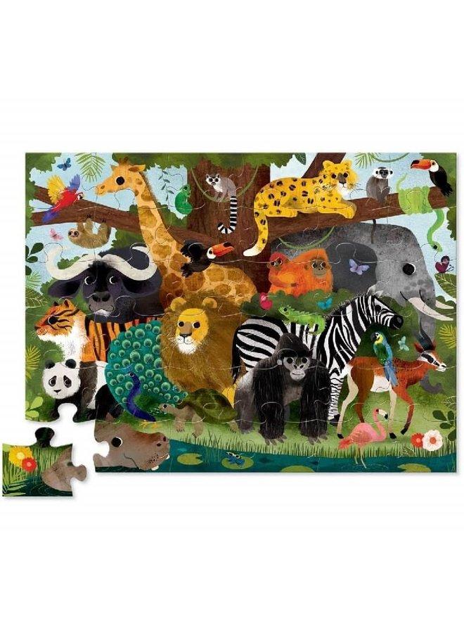 36pc Puzzle | Jungle Friends
