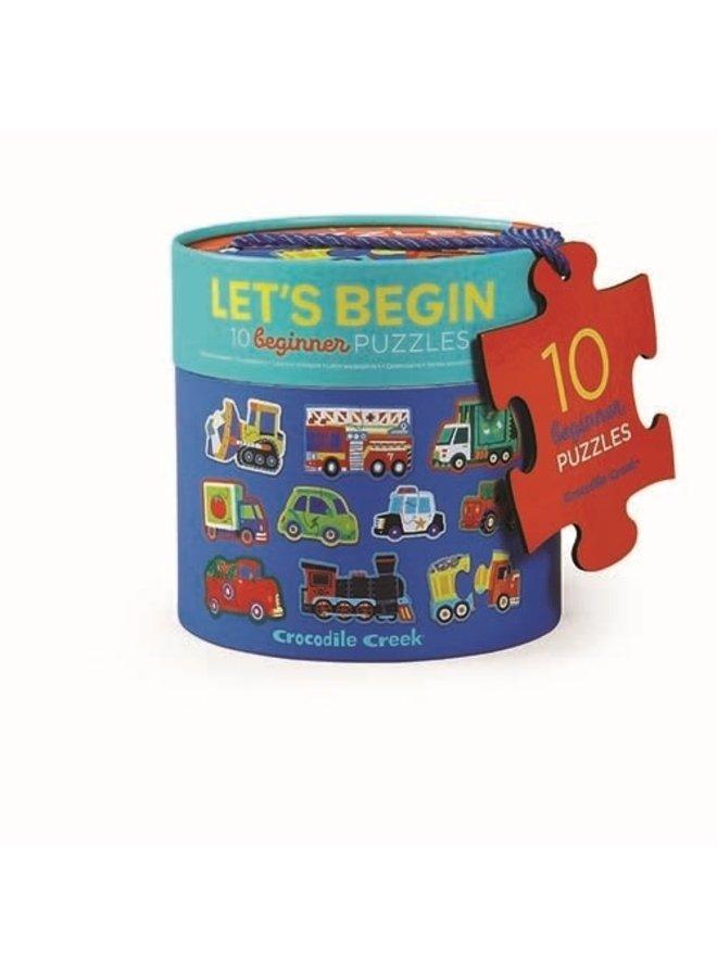 Let's Begin | Vehicles