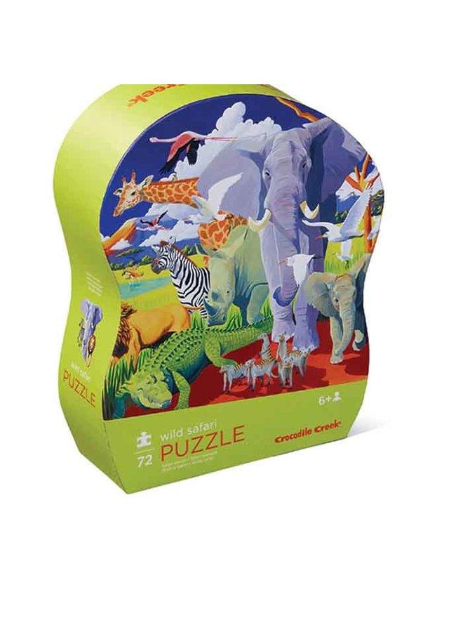 72 pc Puzzle/Wild Safari