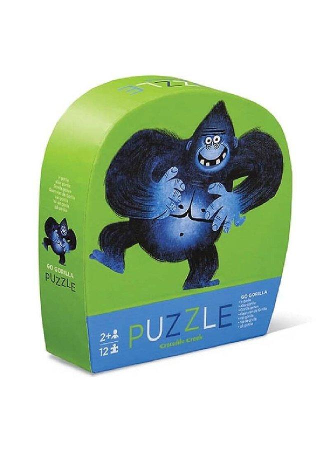 12 pc Mini Puzzle/Go Gorilla