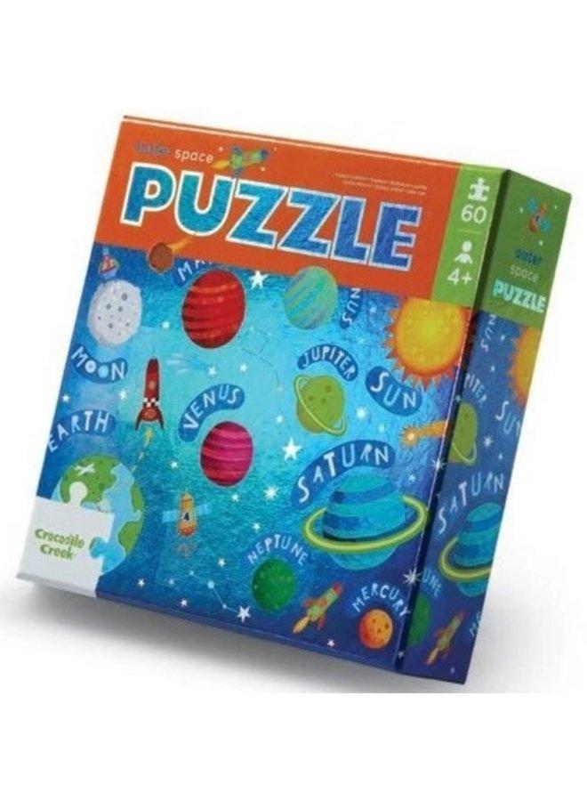60-pc Foil Puzzle   Outer space