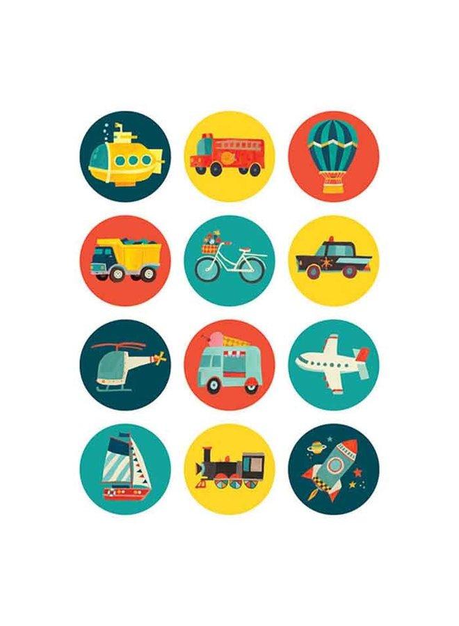 Mini Memory Game/Transportation