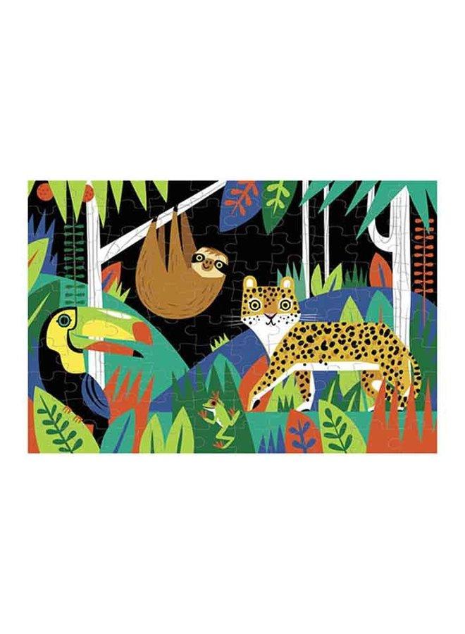 Glow in Dark Puzzle/Rainforest