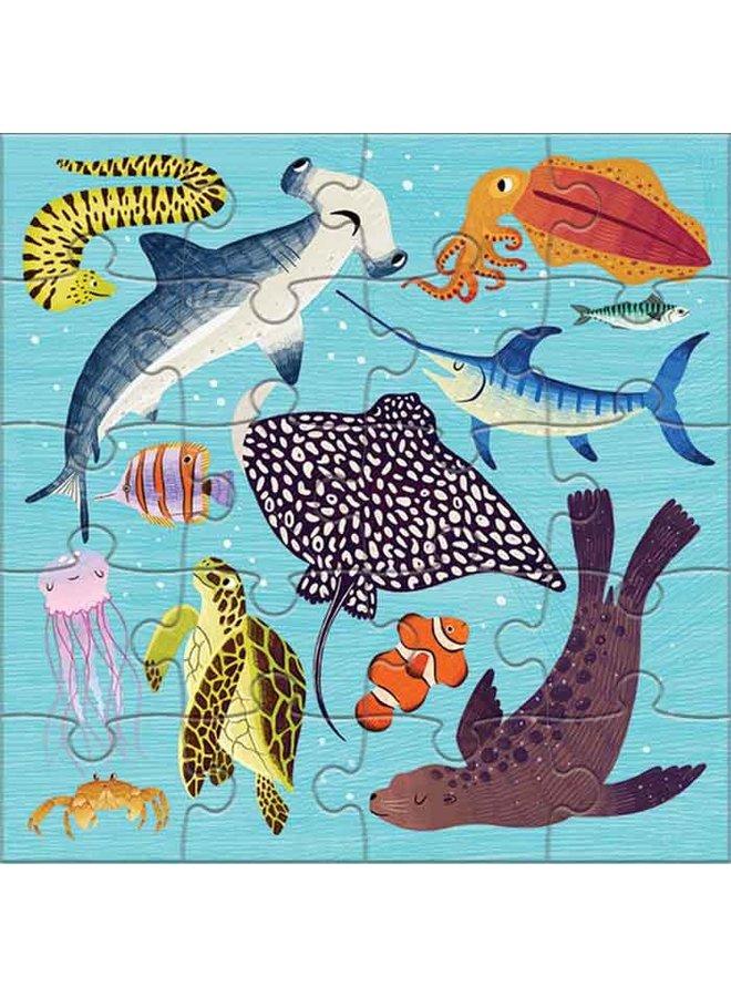 Magnetic Fun/Land & Sea Animals