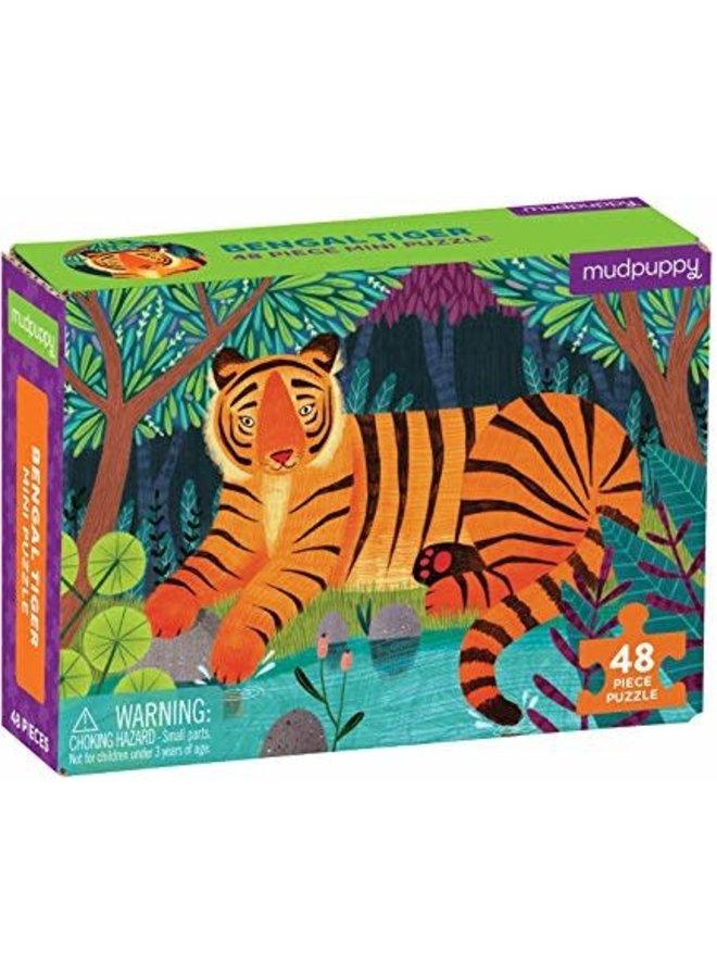 48 pc Mini Puzzle/Bengal Tiger