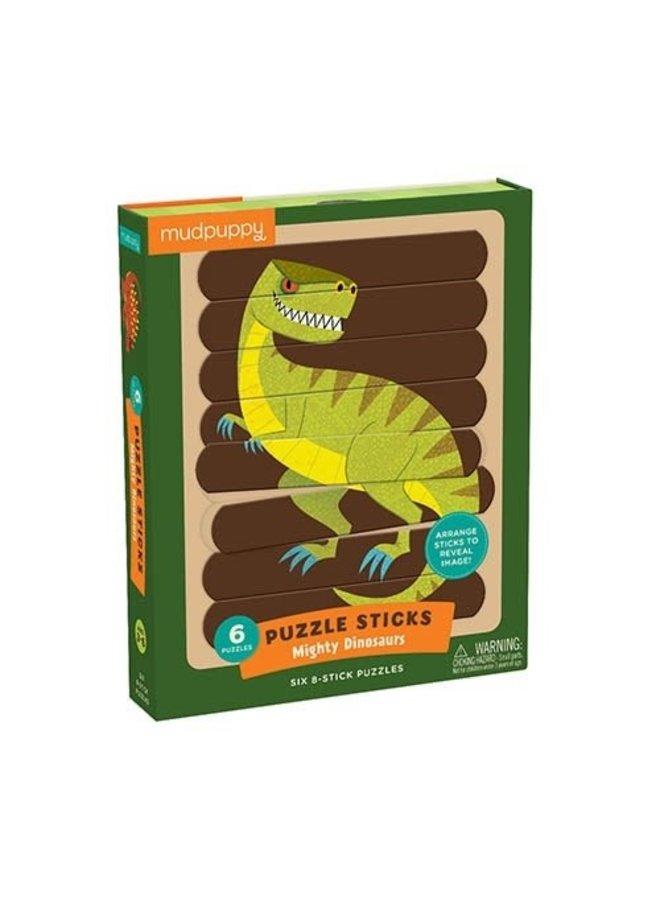Puzzle Sticks/Mighty Dinosaurs