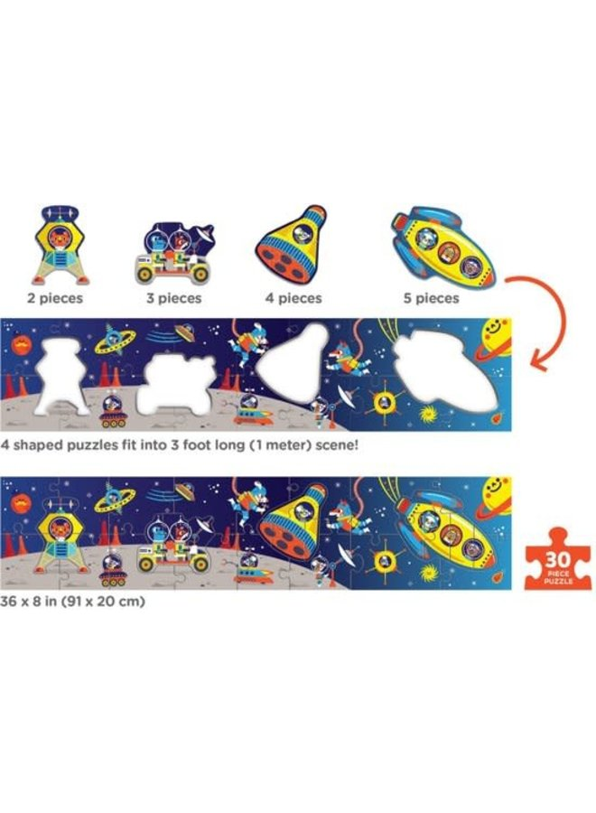 30 PC Long Puzzle/Outer Space