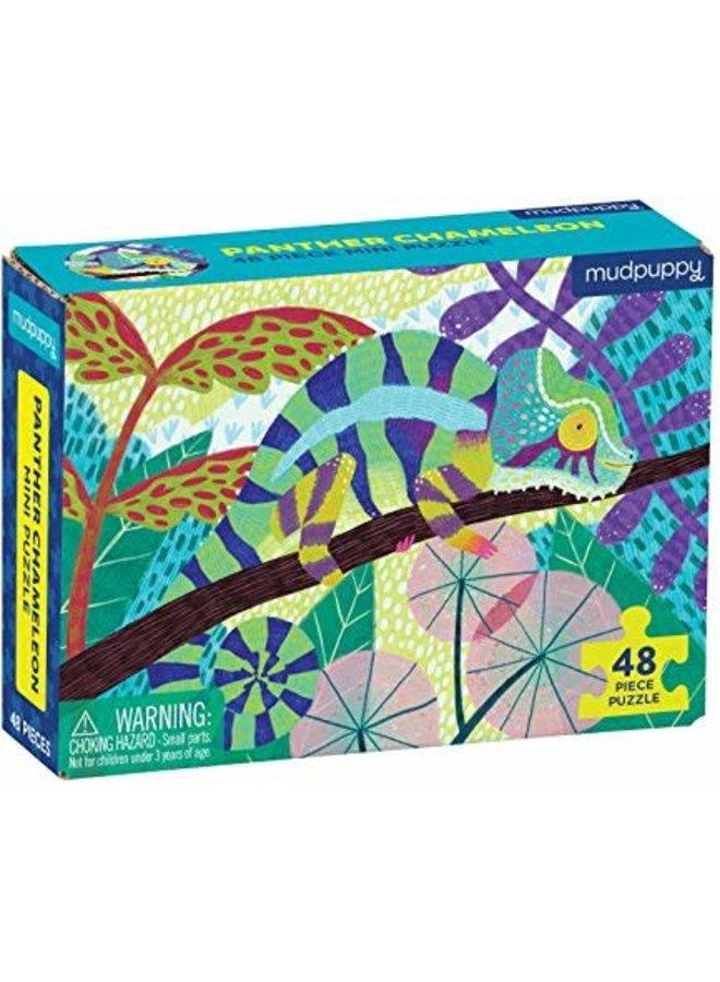 48 pc Mini Puzzle/ Panther Chameleon