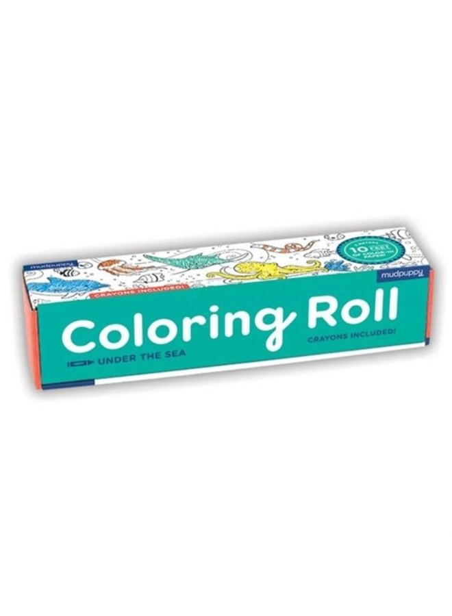 Coloring Roll - Under the sea
