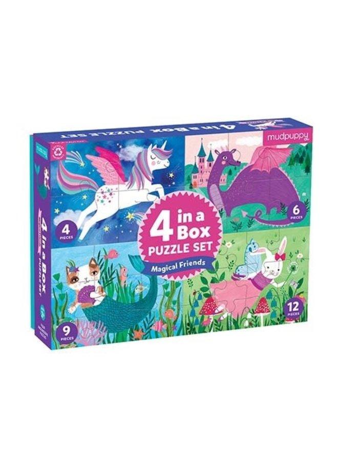 4 in a Box/Magical Friends