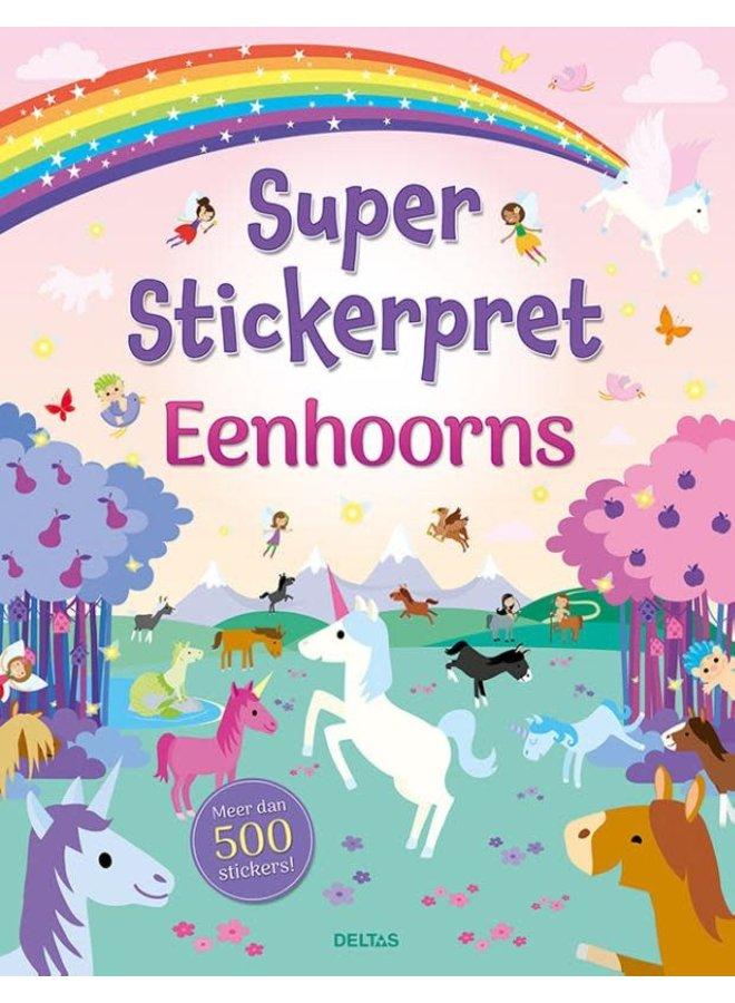 Super Stickerpret - Eenhoorns